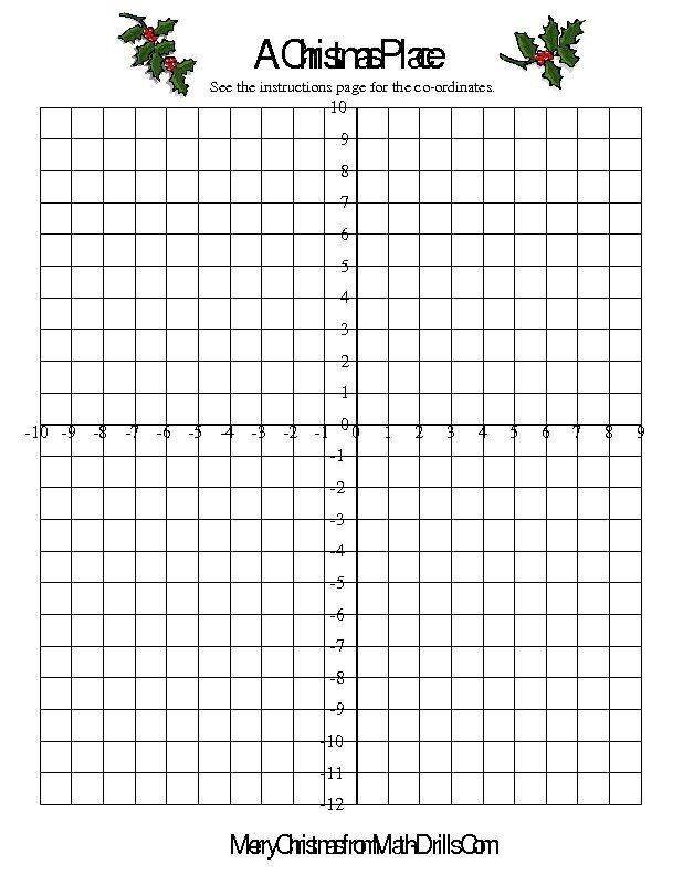 Christmas Coordinates Worksheets Co Ordinate Geometry Activity Christmas In 2020 Christmas Math Christmas Math Worksheets Math Worksheets
