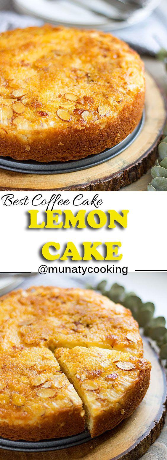 Lemon Cake Recipe Moist Lemon Cake With Almond And