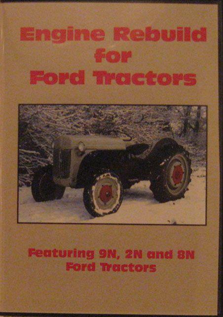 Rebuild DVD Ford Ford 9N, 2N & 8N DVD