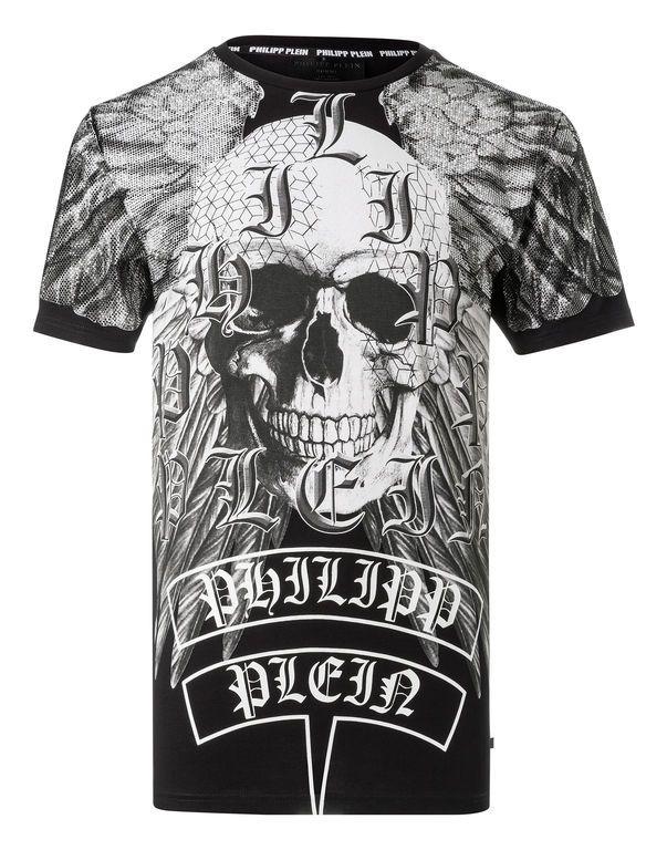 2b94791cb18 PHILIPP PLEIN T-Shirt Round Neck Ss