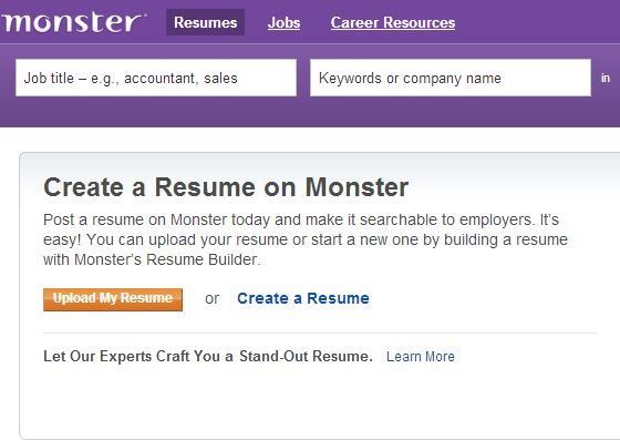 The 25+ best Monster job posting ideas on Pinterest Job search - post a resume
