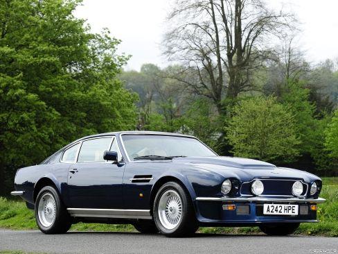 1977 Aston Martin Vantage V8  Para saber más sobre los coches no olvides visitar marcasdecoches.org