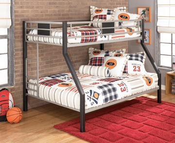I have to say, I always wanted a bunk bed when I was a kid. I'm jealous of all the different options kids have today