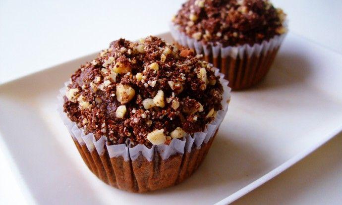Pohankové čoko muffiny