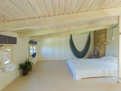 Rethymno villa rental - Loft type bedroom!