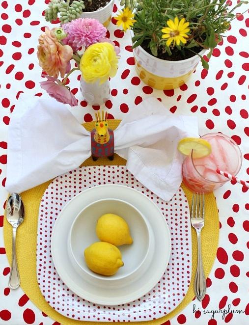 Hi Sugarplum | Happy Summer Table