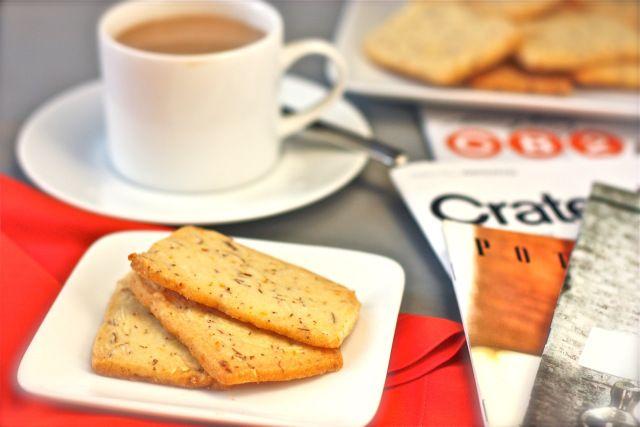 Almond-Orange Shortbread Cookies - 03 | food | Pinterest