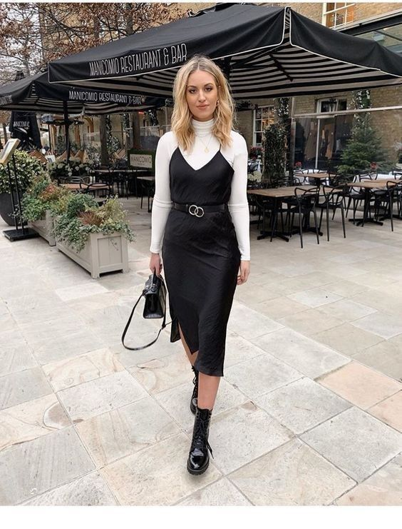 21+ Black dress with turtleneck underneath ideas in 2021