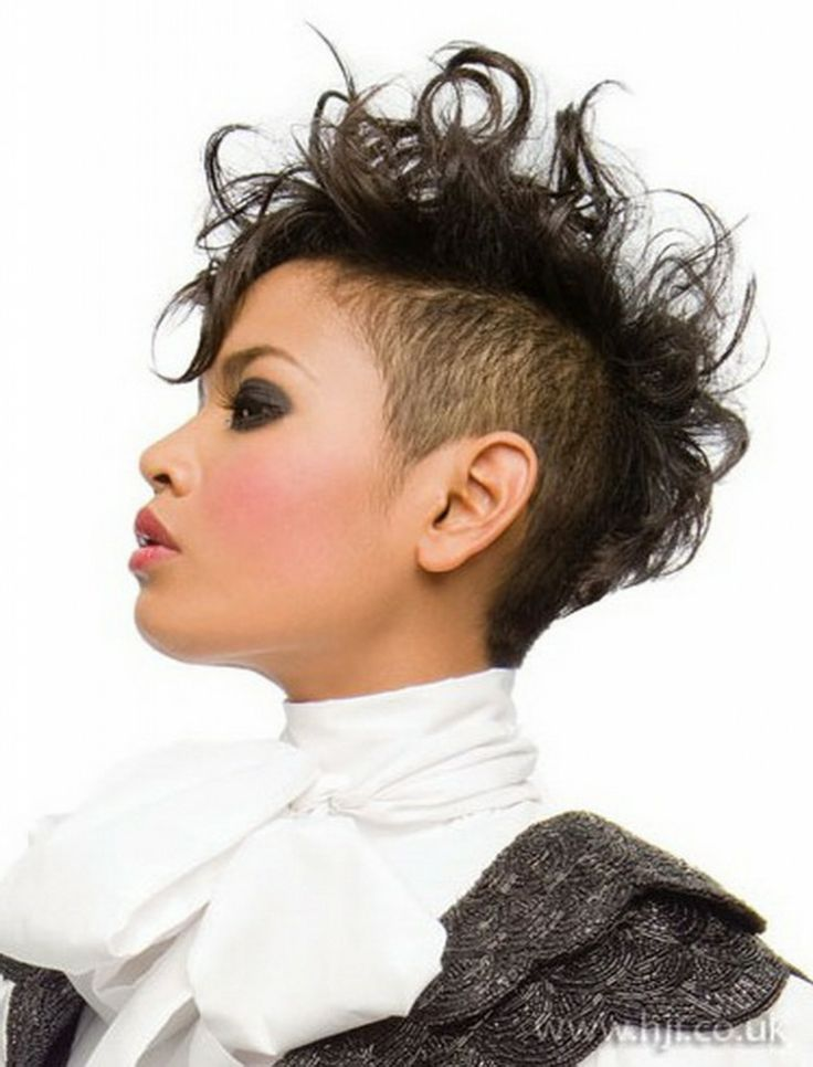 how to style shaved hair best 25 curly mohawk hairstyles ideas on 2269 | bf25110bdd17121e45f6b571b0e348af mohawk hairstyles for women pictures of hairstyles