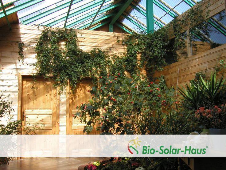blick auf das au en und innenhauses bio solar haus innenaufnahmen pinterest aussen. Black Bedroom Furniture Sets. Home Design Ideas