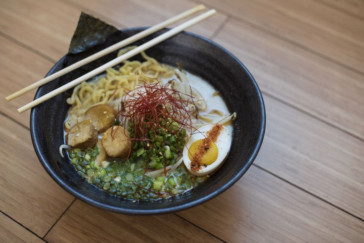 A vegan ramen and pho shop by Chef Ilan Hall of The Gorbals