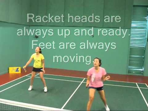 ▶ Simple Doubles 2 Person Block to Net Rotation Drill - YouTube
