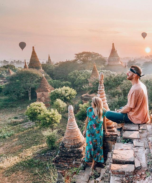 The Best Way To Start Your Day Bagan Myanmar Travelling