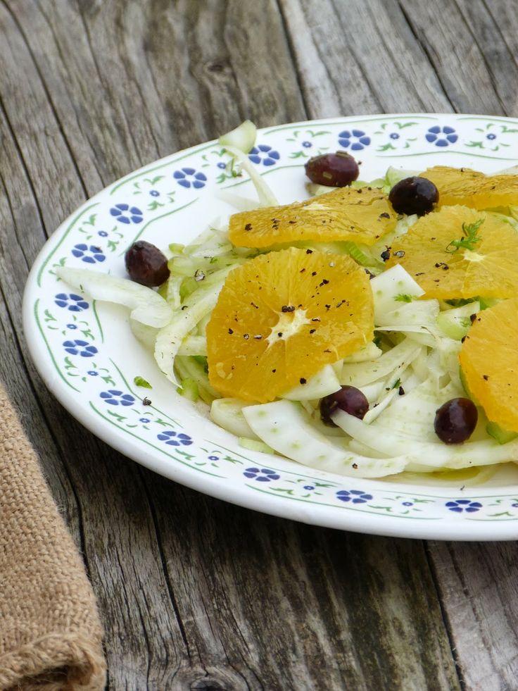 Salade fenouil orange et olives recettes sal es for Bagno 1 5 x 2