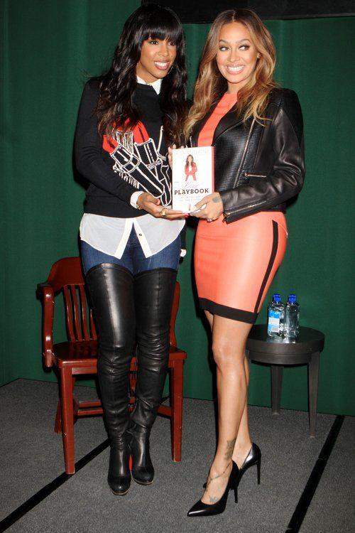 Kelly Rowland and Lala Anthony