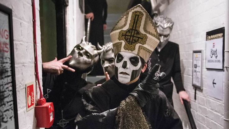 Who are Ghost and what do they want? When Ghost descended on the UK for a special, spooktacular London show, we stepped behind the scenes with the mysterious Swedes