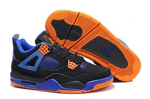 new arrival b904c b9803 How To Buy Air Jordan 4 Retro Cavs Black Game Royal-Orange Blaze -  Mysecretshoes