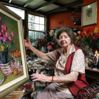 margaret olley and her works of Tribute to margaret olley says olley donated more than 140 works to its collection in her later years margaret olley may have been physically.