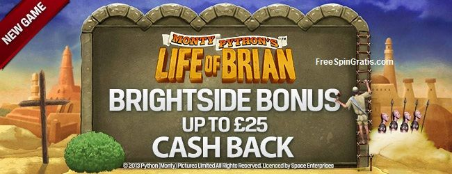 Monty Python's: Life of Brian – Brightside Bonus Join us to celebrate April Fools this week with some foolish fun on 'Monty Python's Life of Brian' slot and you could laugh your way up to £25 cash back! Salute the Brightside of Life with cash back whether you win or lose! Play Monty […]
