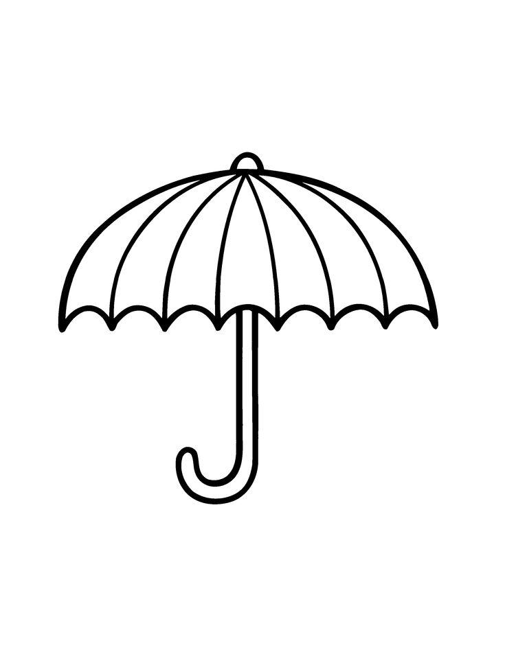 kleurplaat paraplu - Google zoeken
