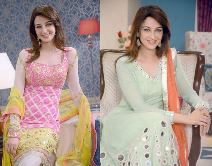 Bhabhiji ghar par hai Saumya Tandon as Anita Mishra with Vibhuti Narayan Mishra