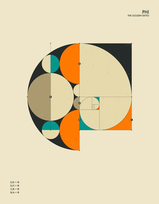 Phi: The Golden Ratio by Jazzberry Blue | Society6