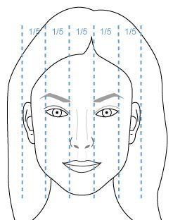 Femme Profil Grille Horizontale