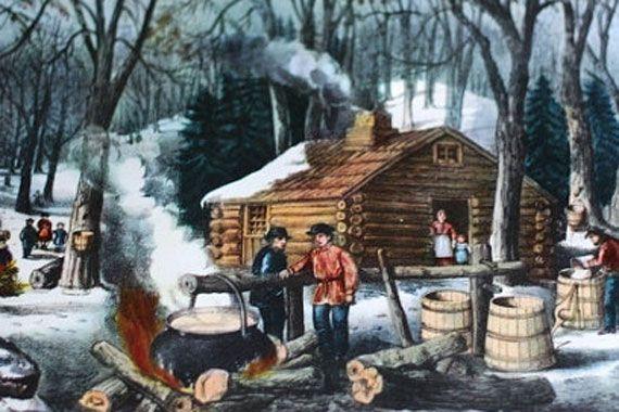 Kitchen Histories: Maple Sugaring [Etsy]