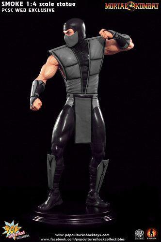 Mortal Kombat Klassic  SMOKE  1:4 Scale Statue – PCS WebExclusive.