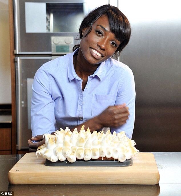 Lorraine Pascale Former British Model now Chef