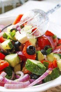 Рецепт приготовления греческого салата