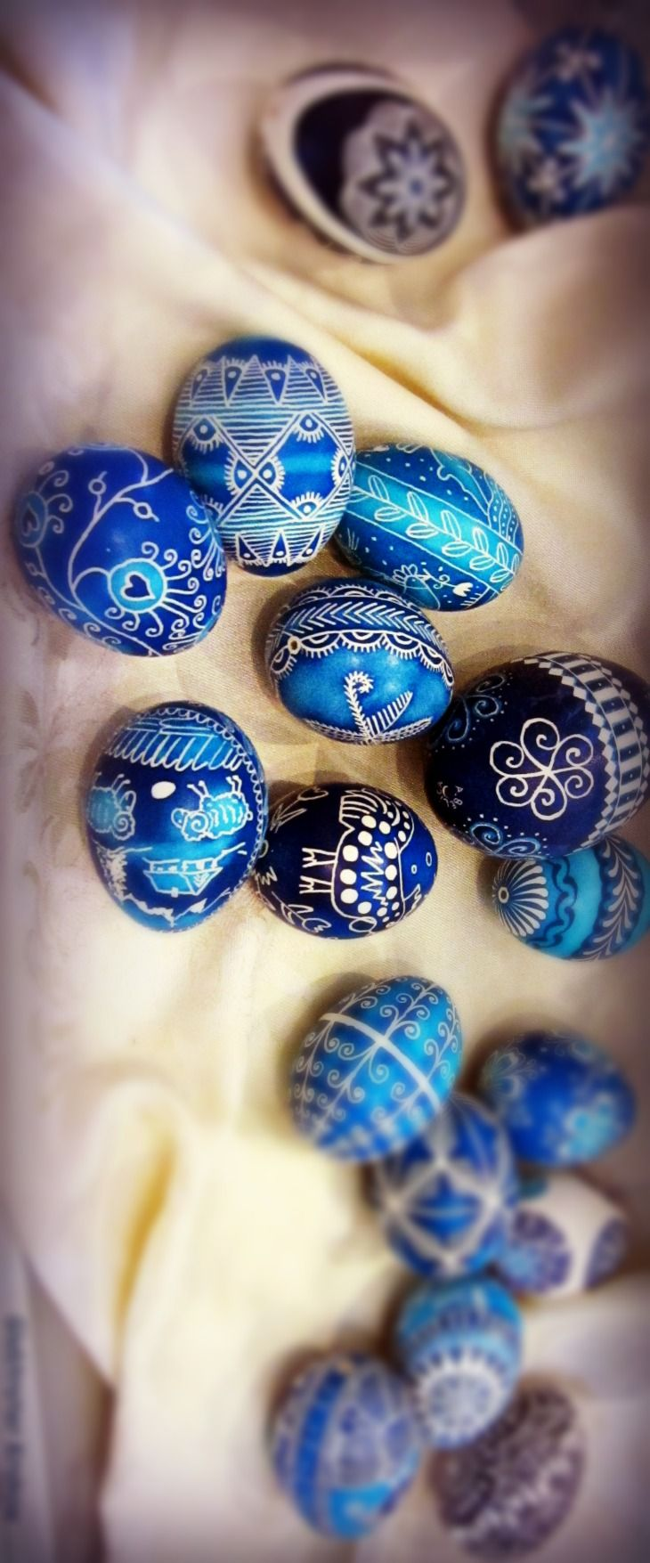 Polish Easter Eggs, Krakow, Poland