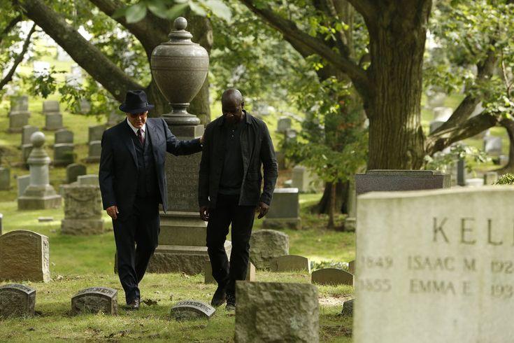 James Spader and Hisham Tawfiq in The Blacklist (2013)
