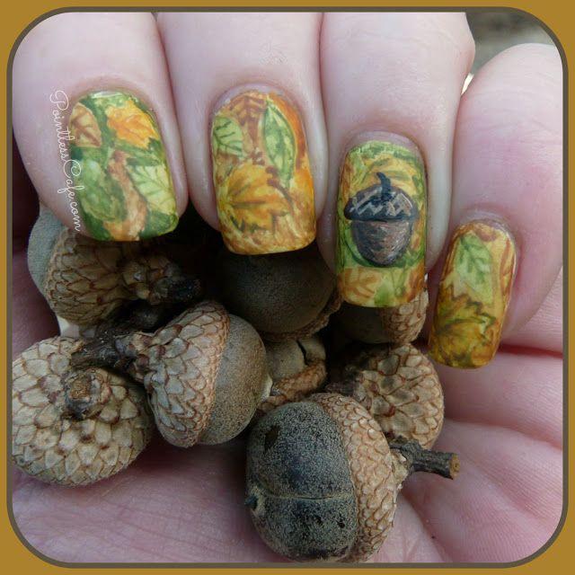 HPB Presents: Autumnal Leaves - Fall Nail Art