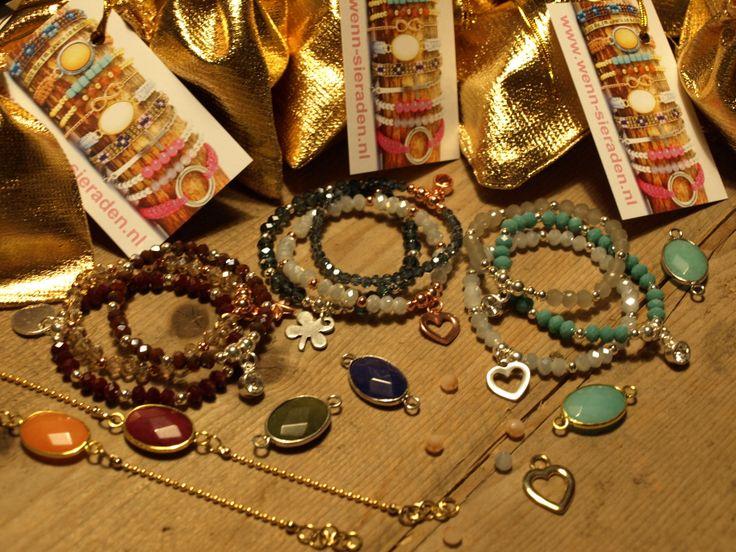 Deze leuke armbandjes koop je makkelijk en snel op www.wenn-sieraden.nl