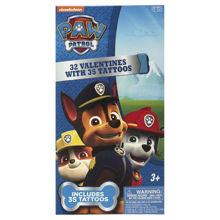 17 best images about paw patrol on pinterest valentine for Paw patrol tattoos