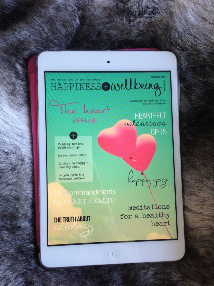 The Feb issue of Happiness + Wellbeing magazine is now live! Check it out on the Apple App Store and the h+w website for just $2.99 x www.hwmag.happyplanetapps.com