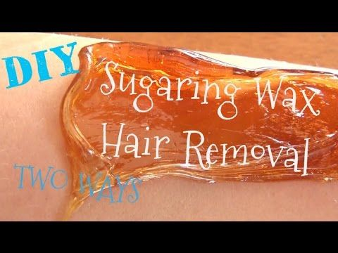 She Shows Us An Excellent Sugaring Recipe For Permanent Hair Removal (Watch!) - DIY Joy