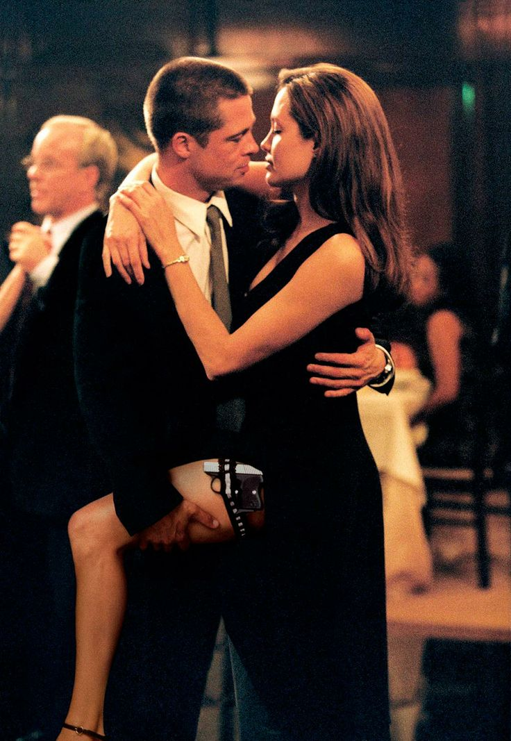 Em Sr. e Sra. Smith, onde supostamente começou o romance com Brad Pitt