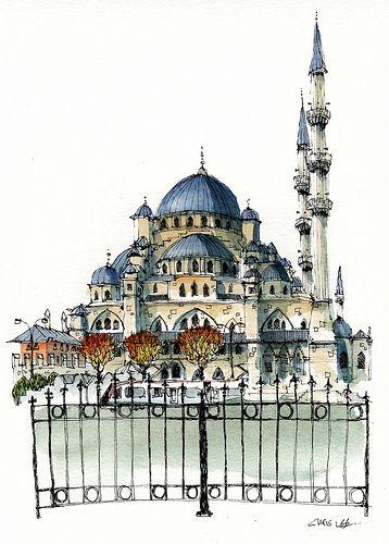 Yeni Cami, Istanbul   Flickr - Photo Sharing!