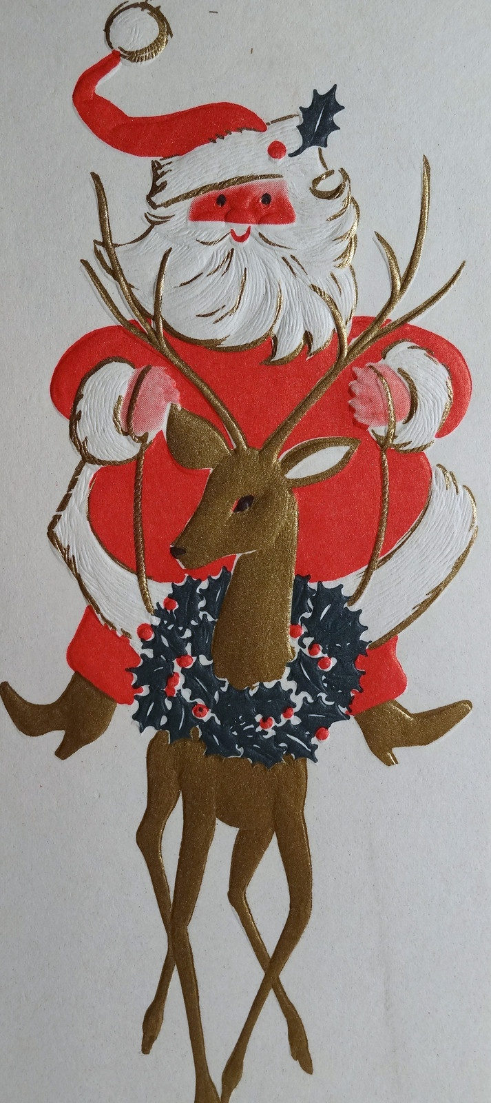 1440 best Vintage Christmas Greeting Cards Two images on Pinterest ...