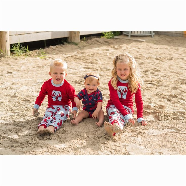 Lobster Kids Long Sleeve Pyjamas Set