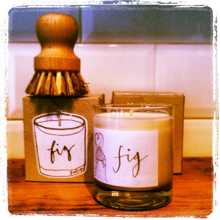 Lovely Fig Scented Natural Wax Candles from Baileys