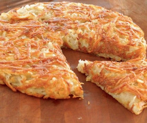 Batata Rosti - a receita original suiça e seus segredos | Eu como sim