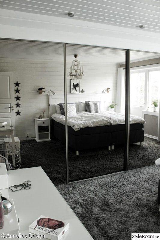 Strålande skjutdörrar,sovrum,inredningstips,platsbyggd garderob,spegel DS-55