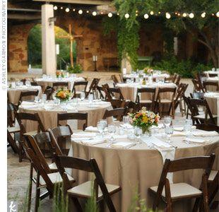 Oh How I Love You Tan Tablecloths Wedding Ideas