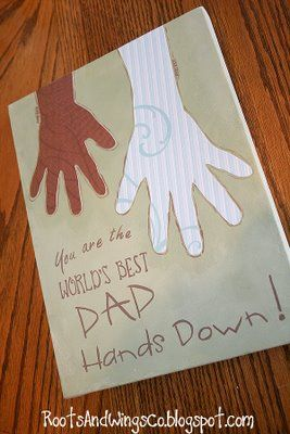 father's dayHands Prints, Fathers Day Crafts, Father'S Day Gifts, Crafts Ideas, Gift Ideas, Fathers Day Gift, Kids, Dads, Fathers Day Cards