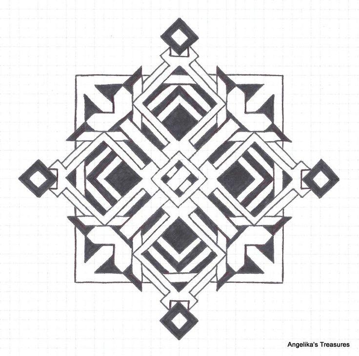 The 25+ best Graph paper art ideas on Pinterest | Zen doodle ...