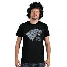 Camiseta con el escudo del lobo huargo de la casa Stark