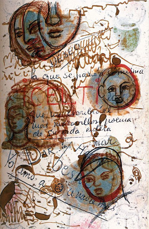 Frida Kahlo - A page of her diary (1953)